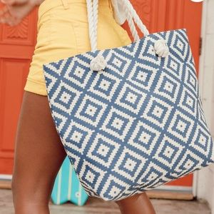 SUMMER & ROSE   Tote   Cotton